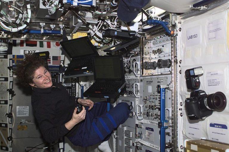 Laptops auf der ISS
