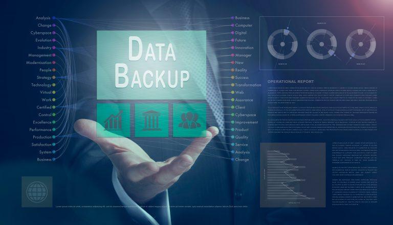 Visualisierung Backup