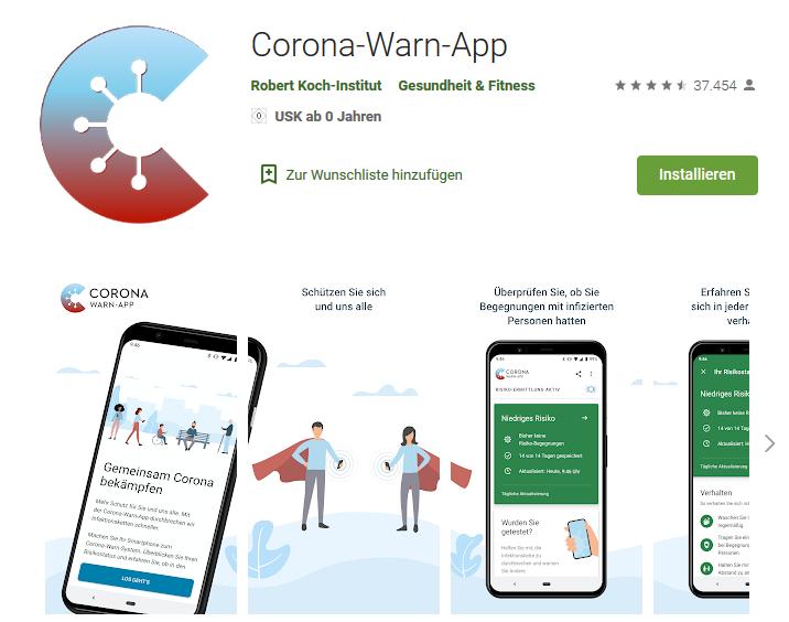 Corona Warn App Erfahrungen